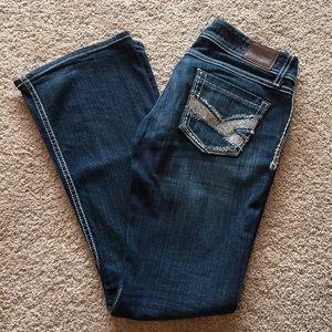 BKE Starlite Flare Leg Jeans